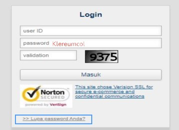 Lupa Password Brimo