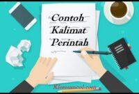 Contoh Kalimat Perintah