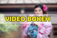 video bokeh 4